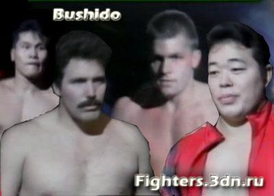 Бушидо - Тамура и Сэверн против Анджо и Нельсона