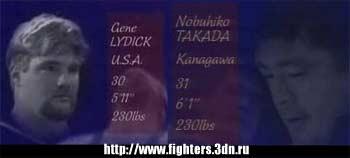 Джин Лайдек против Нобухико Такады