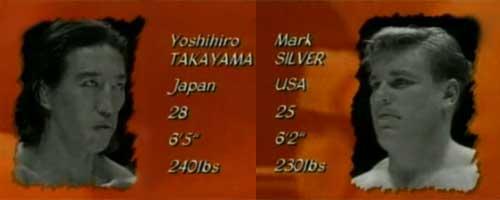 Ёшихиро Такаяма против Марка Сильвера (бушидо)