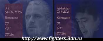 Нобухико Такада против Джей Ти Саузерна
