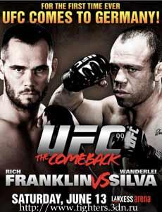 Список участников UFC 99