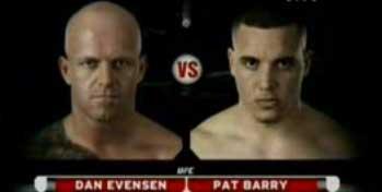 Ден Эвансон против Пэта Барри