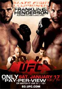 UFC 93: FRANKLIN vs HENDERSON