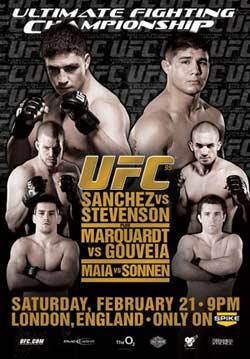 результаты турнира UFC 95