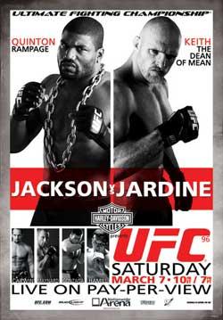 Результаты турнира UFC 96: JACKSON vs. JARDINE